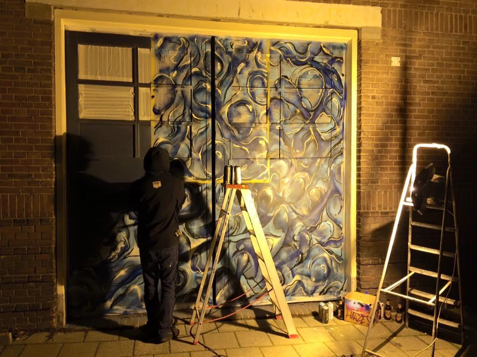 Kunst weer terug in coehoorn arthouse arnhem coehoorn centraal - Nieuw muurschildering ...